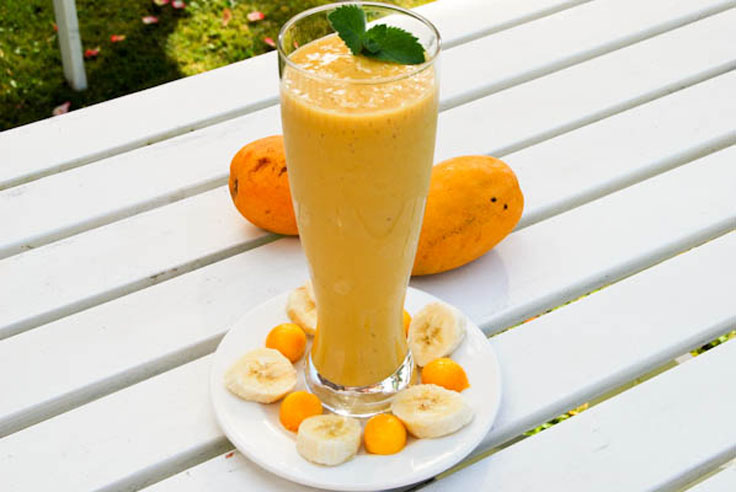Mango-banana-smoothie