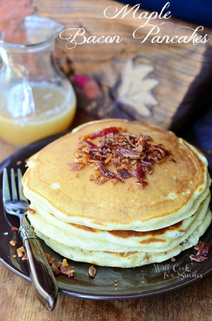 Maple-Bacon-Pancakes