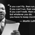 Martin Luther King motivaton quote