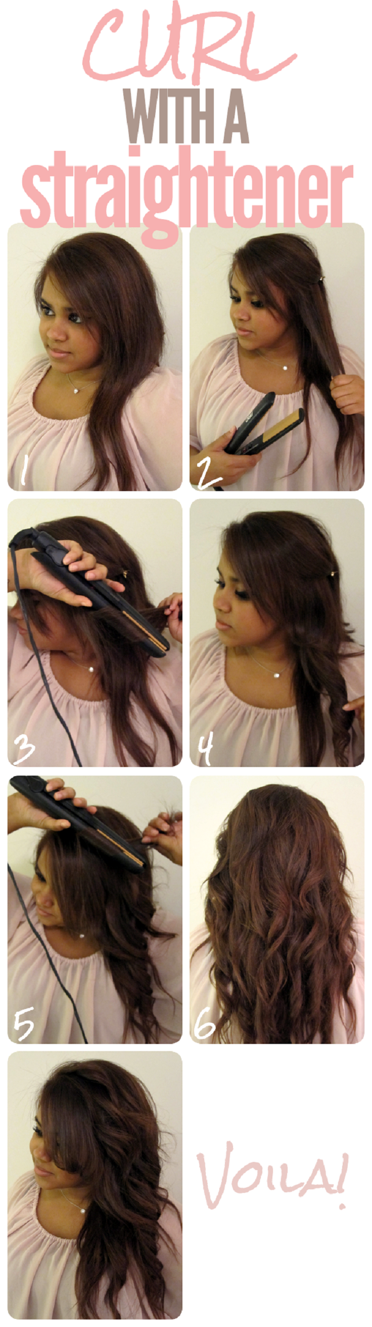 Magnificent Top 10 Best Tutorials On How To Curl Your Hair With Flat Iron Hairstyles For Men Maxibearus