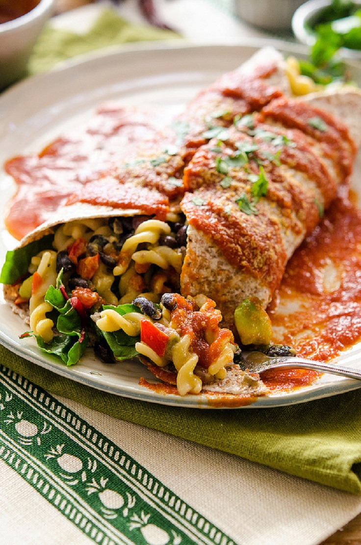 Mexican-Mac-Burrito-with-Red-Sauce