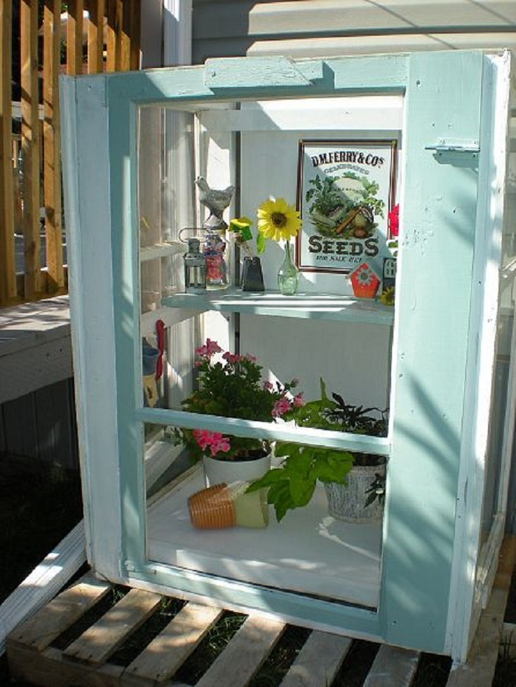Mini-Greenhouse-from-Old-Storm-Windows