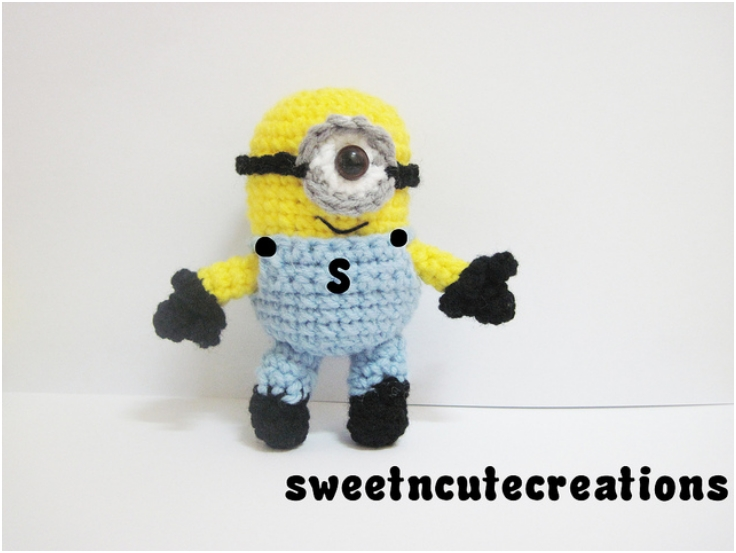 Free Crochet Pattern Minion Overalls : Minion Pattern Related Keywords & Suggestions - Minion ...
