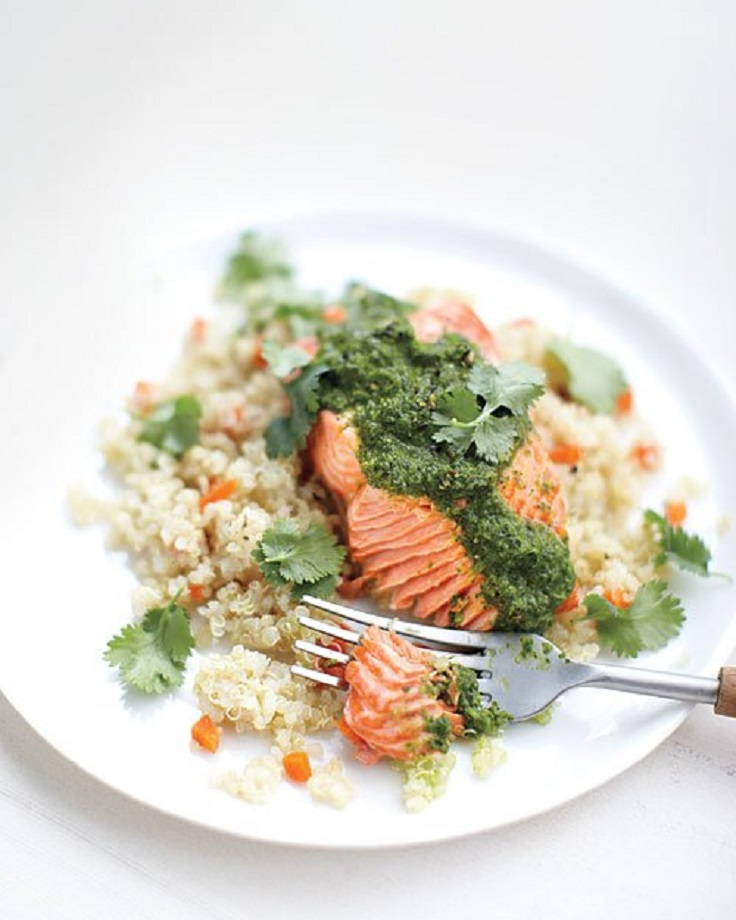 Moroccan-Steamed-Salmon-with-Quinoa-and-Carrots