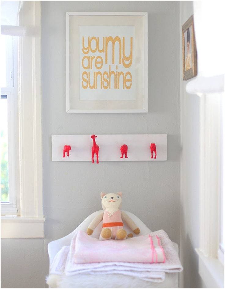 Neon-Nursery-Wall-Hooks