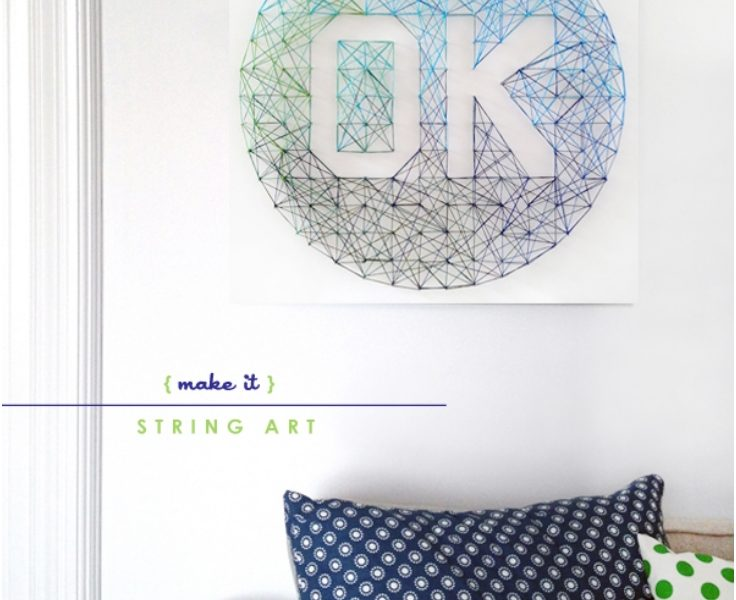 Top 10 Stunning DIY String Art - Top Inspired