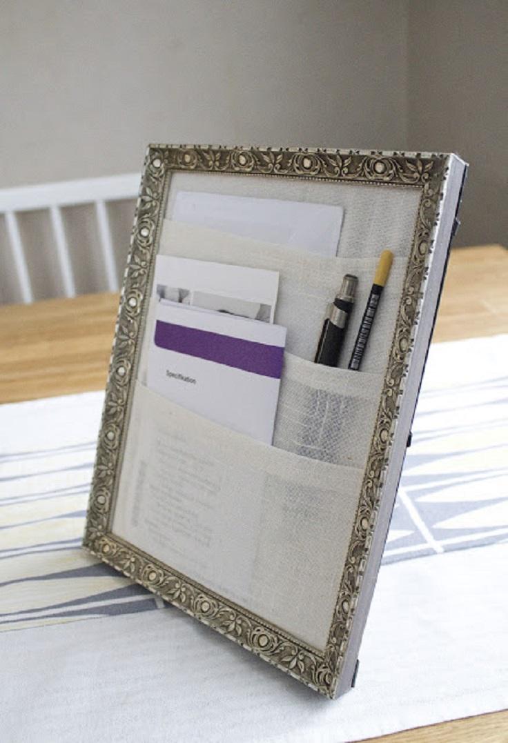 Organizer-using-a-Frame