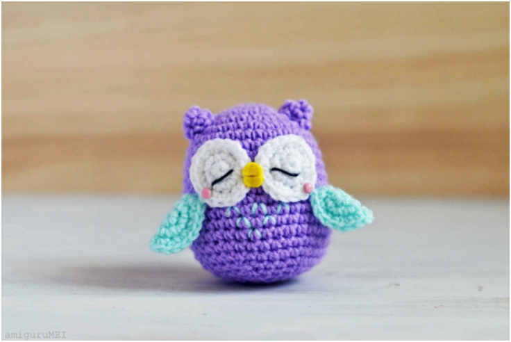 Amigurumi Patterns Owl : Top 10 Cutest Little DIY Amigurumi Free Patterns - Top ...