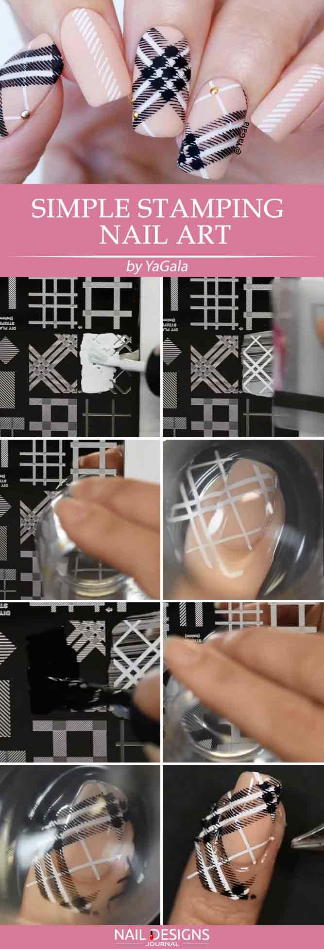 Plaid-Nail-Art-
