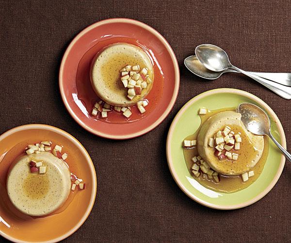 Pumpkin-Panna-Cotta-with-Apple-Cider-Sauce-1