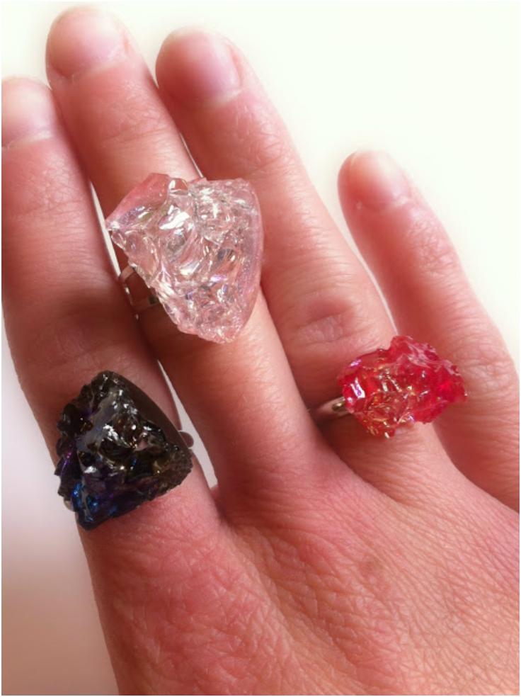 Quartz-Glass-Rings