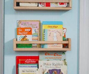 Top 10 DIY Kid's Book Storage Ideas