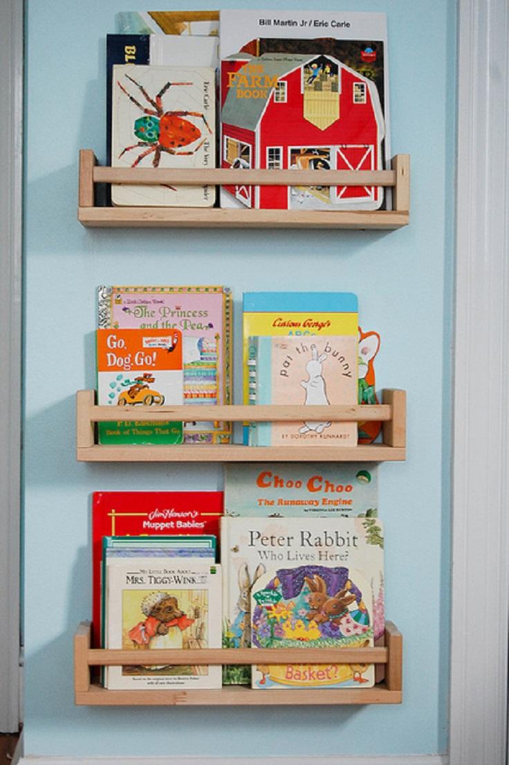 Top 10 DIY Kid's Book Storage Ideas | Top Inspired