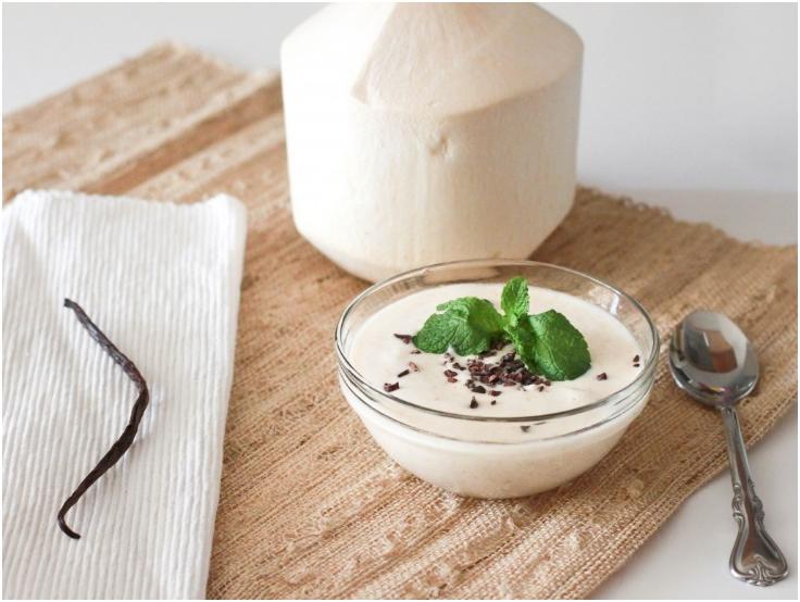 Raw-Coconut-Almond-Yogurt-Recipe-for-Weight-Loss