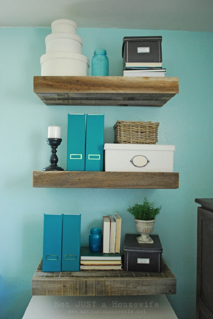 Reclaimed-Wood-Floating-Shelves