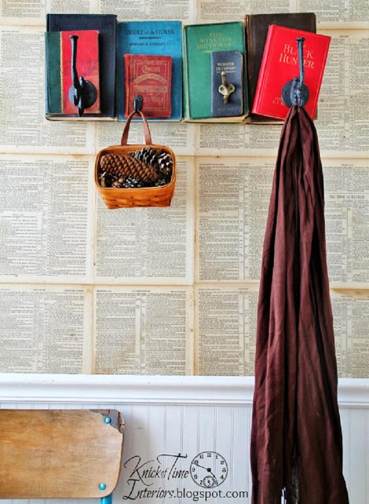 Repurposed-Book-Coat-Rack