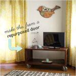 Top 10 Lovely DIY Repurposed Vintage Doors   Top Inspired