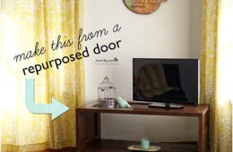 Top 10 Lovely DIY Repurposed Vintage Doors | Top Inspired