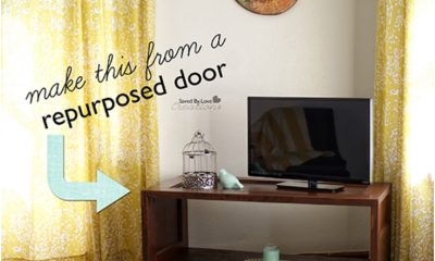 Top 10 Lovely DIY Repurposed Vintage Doors | Top Inspired
