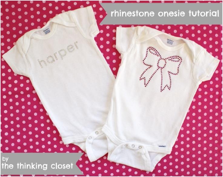 Rhinestone-Onesie