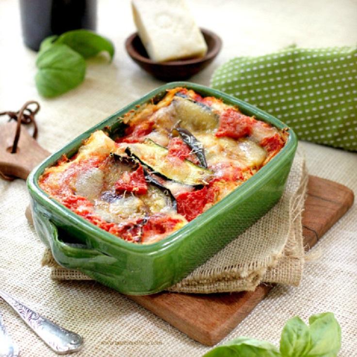 Roasted-Vegetable-Lasagna