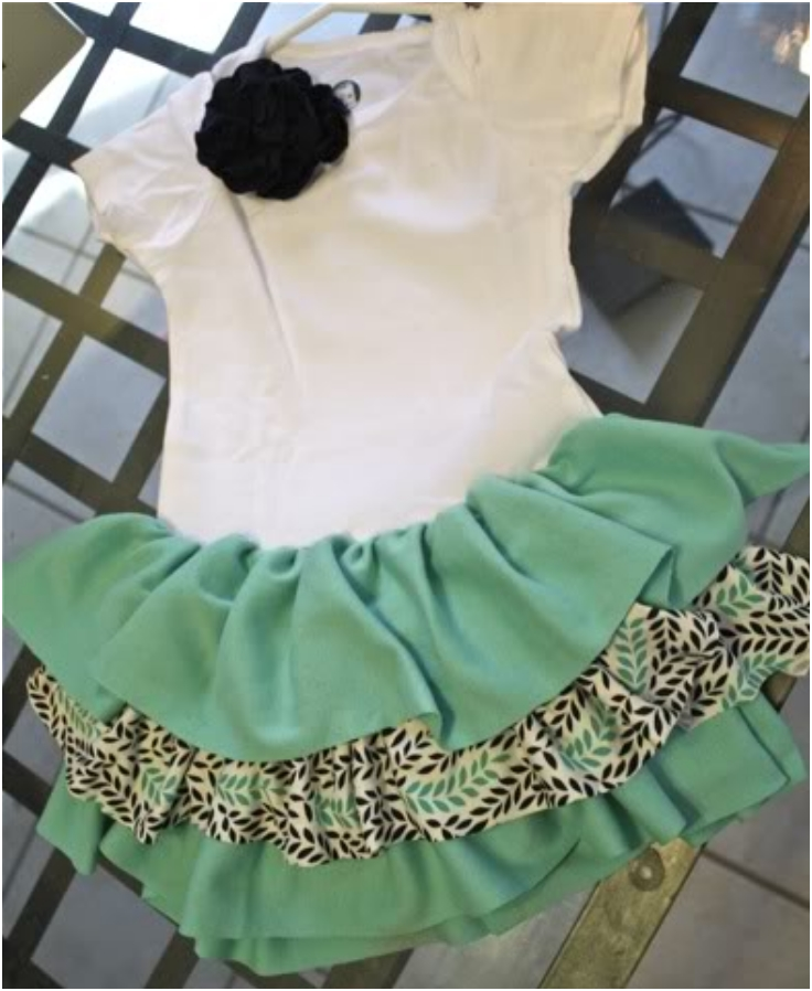 Ruffly-Onesie-Dress