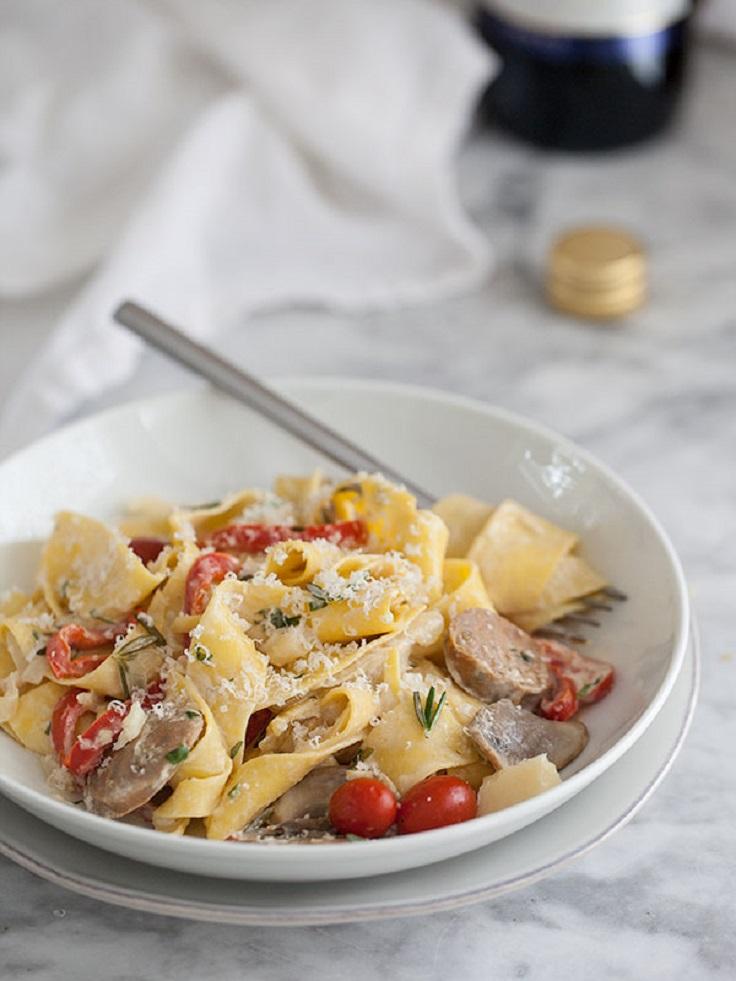 Creamy Garlic Chicken Parmesan Recipe