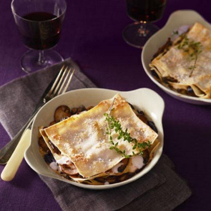 Savory-Vegetarian-Mushroom-Lasagna