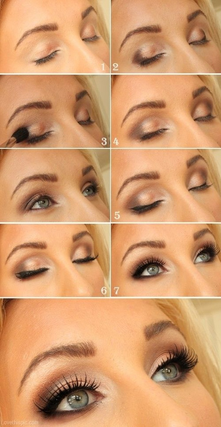 Eyeshadow Tutorial Videos: Top 10 Romantic Eye Makeup Tutorials