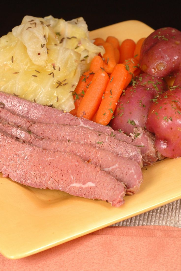 beef recipe in this whole list. Slow cooker corned beef and cabbage ...