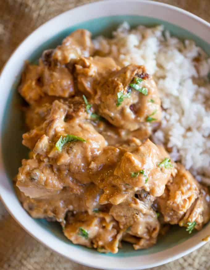 Slow-Cooker-Thai-Peanut-Chicken