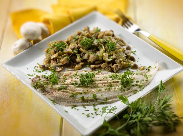 Sole-Fish-with-Sauteed-Mushrooms