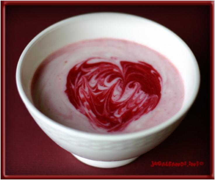 Soy-yogurt-Strawberries