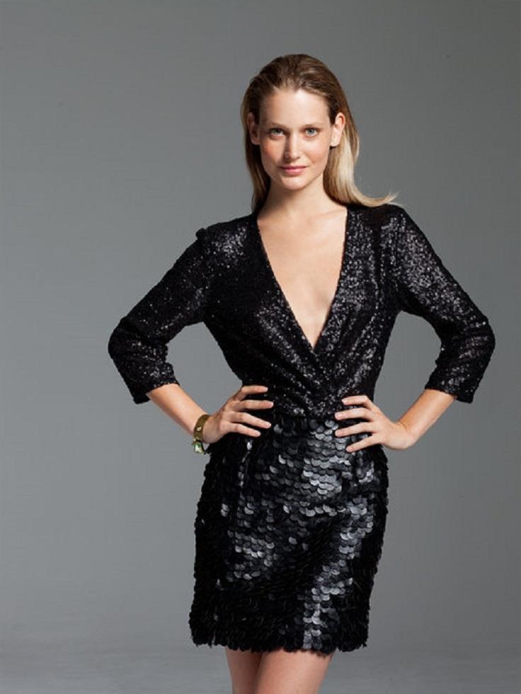 Stretch-Sequin-Dress