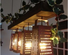 Suspended Lamp From Graters