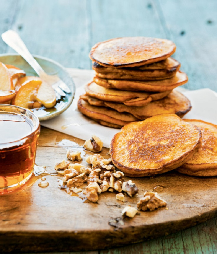 Sweet-Potato-Pancakes-with-Walnuts