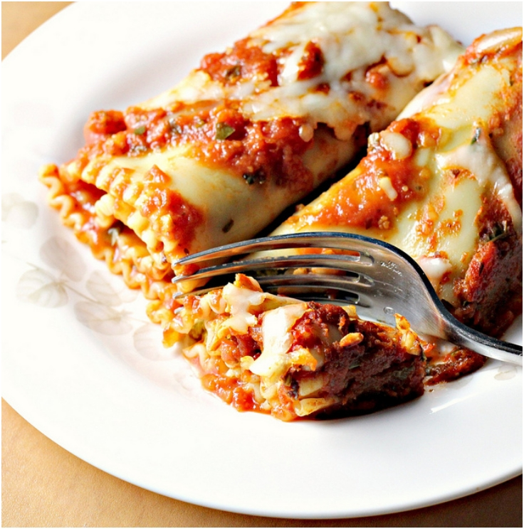 Sweet-Potato-Spinach-Pesto-Lasagna-Rolls