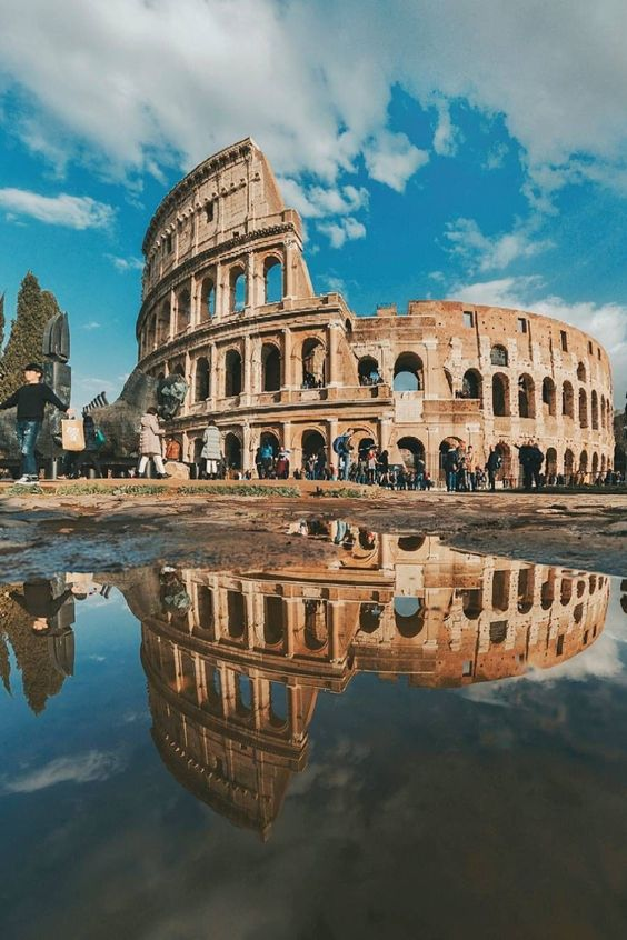 The-Colosseum-In-Rome-Italy