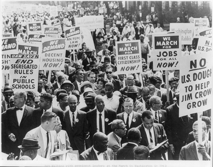 The-March-on-Washington-held-August-28-is-the-largest-civil-rights-demonstration-in-history-with-nearly-250000-people-in-attendance.
