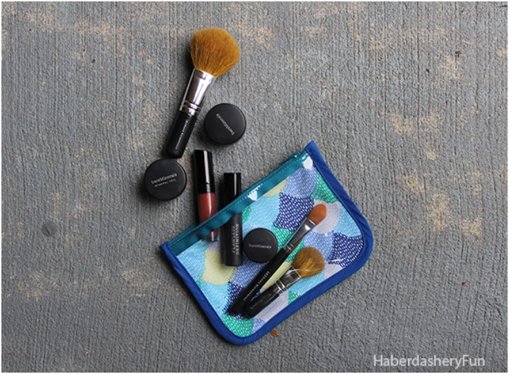 Vinyl-And-Fabric-Cosmetic-Pouch