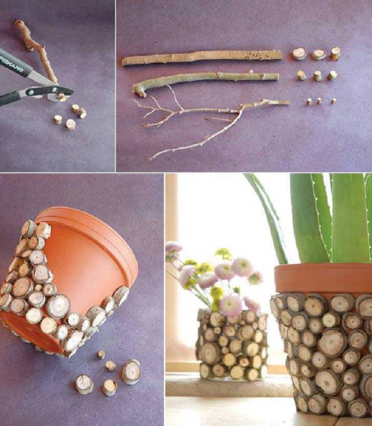 Wood-Sticks-Flowerpot
