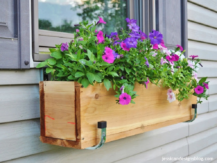 Window Flower Boxes Diy