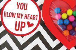 Top 10 Fun DIY Bubblegum Valentines   Top Inspired
