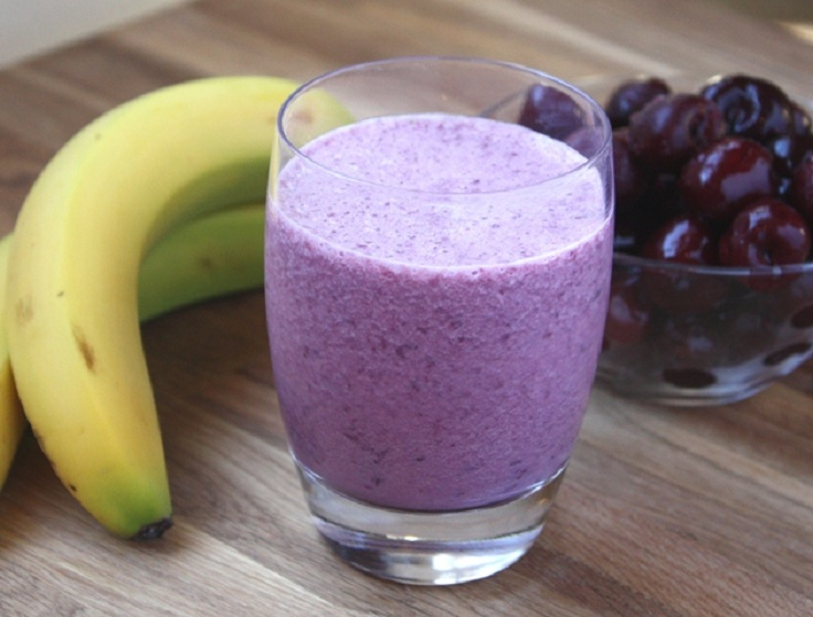 cherry-banana-smoothie
