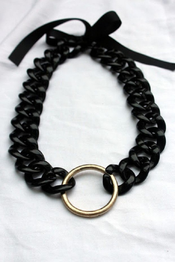 Top 10 Trendy DIY Chain Necklaces