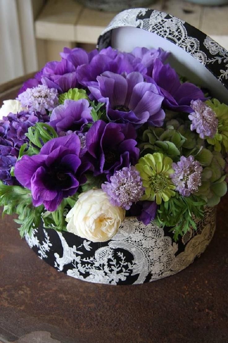 Top 10 DIY Simple Flowers Arrangements - Top Inspired