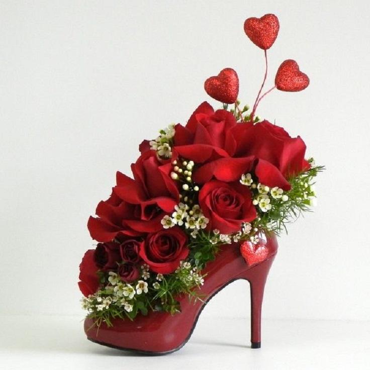 flowers-in-a-shoe