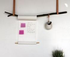 hanging notebook