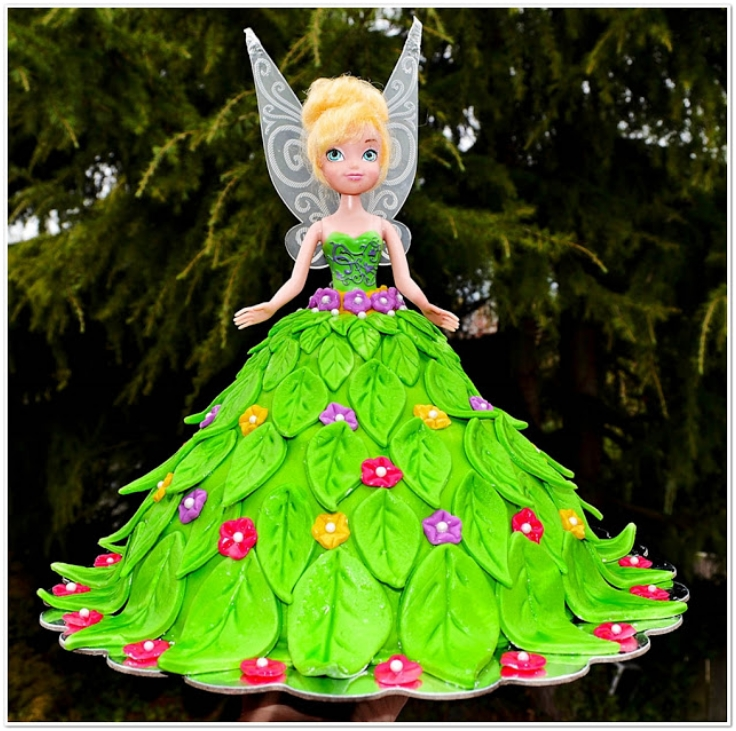inkerbell-Doll-Cake-for-a-Birthday-Party