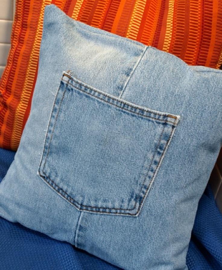 jeans-pillow